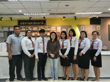 ชาร์ปกรุงไทยการไฟฟ้าเยี่ยมนักเรียนทุนฯ ระดับอาชีวศึกษา  ขยายผลผลลัพธุ์ตัวอย่างนักศึกษาที่สร้างชื่อเสียงระดับประเทศ